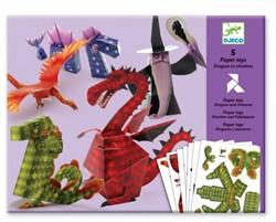 Djeco knutselpakket draken 3D