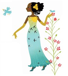 Djeco Paper dolls - Dresses through the seasons