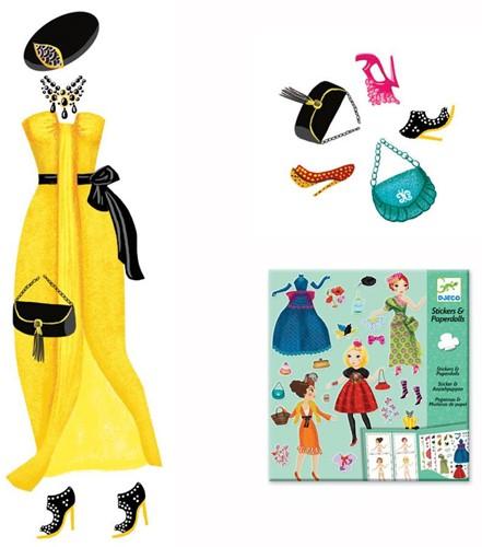Djeco creatief Paper dolls - Massive fashion-3