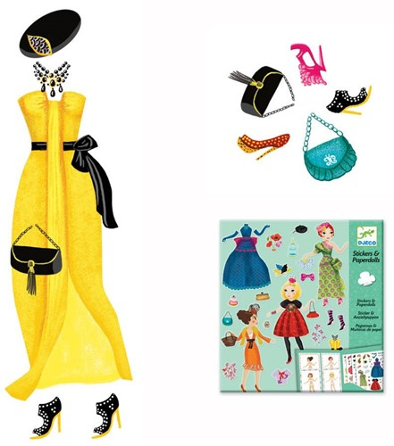 Djeco Paper dolls - Massive fashion-3