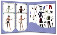 Djeco creatief Paper dolls - Pirates-2