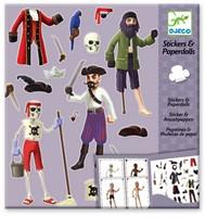 Djeco Stickers Les pirates-1