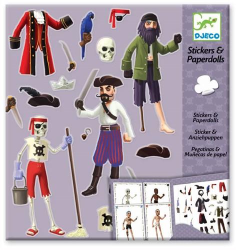 Djeco creatief Paper dolls - Pirates-1