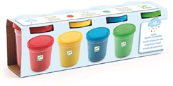 Djeco klei 4 tubs of play dough