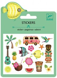 Djeco stickers Hawaiian designs