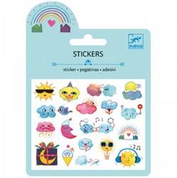 Djeco stickers Het weer