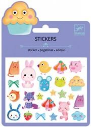 Djeco Mini stickers Kawai