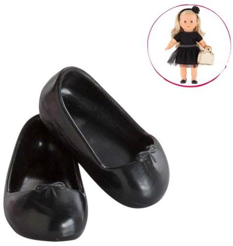 Corolle poppenkleding Mc Black Ballet Flat Shoes DJB62
