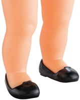 Corolle poppenkleding Mc Black Ballet Flat Shoes DJB62-2