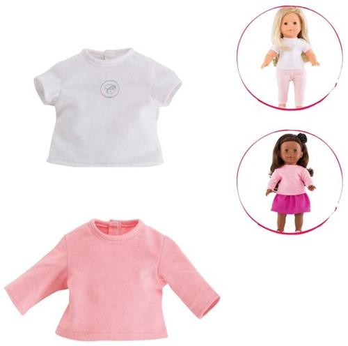 Corolle poppenkleding Mc 2 T Shirts: White&Pink DJB82-1
