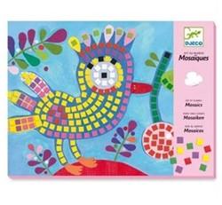 Djeco creatief mozaiek vogel en lieveheersbeestje