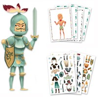 Djeco creatief Paper dolls - Knights-3