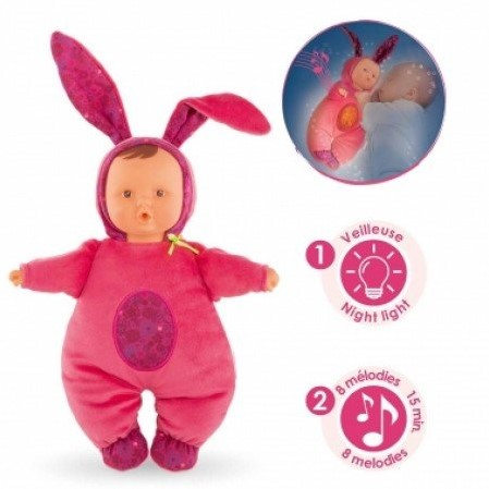 Corolle pop Babibunny Nightlight Grenadine DLF37