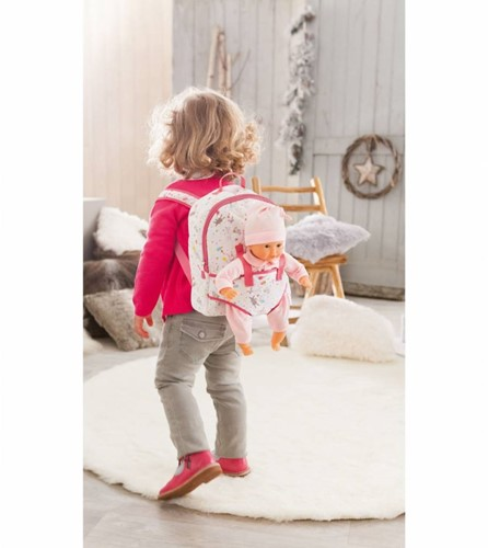Corolle poppen accessoires Mon 1°Baby Doll Carrier Backpack  DMT32-2