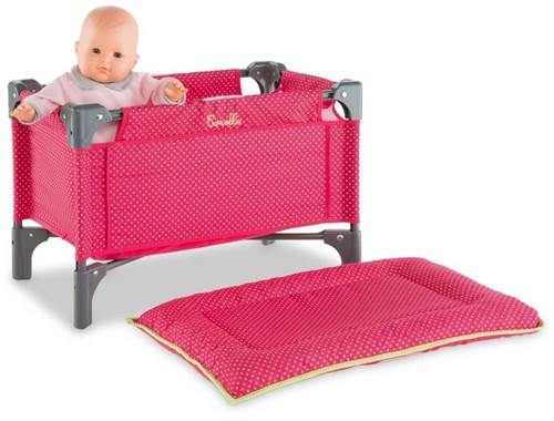 Corolle poppen accessoires Doll Cherry Bed & Changing Table DMT98-1