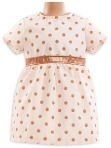 """Corolle poppenkleding Bb14"""""""" Dress Golden Pink  DMV07-1"""