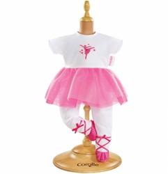 Corolle accessoire voor 30 cm pop -  Ballerina Suit- Fuchsia