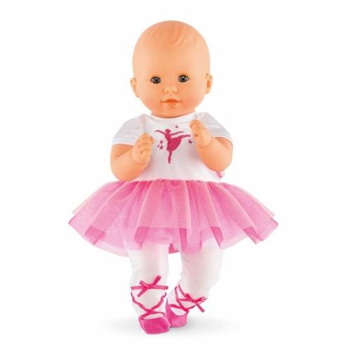 """Corolle poppenkleding Bb12"""""""" Ballerina Fuchsia Suit DMV82-2"""