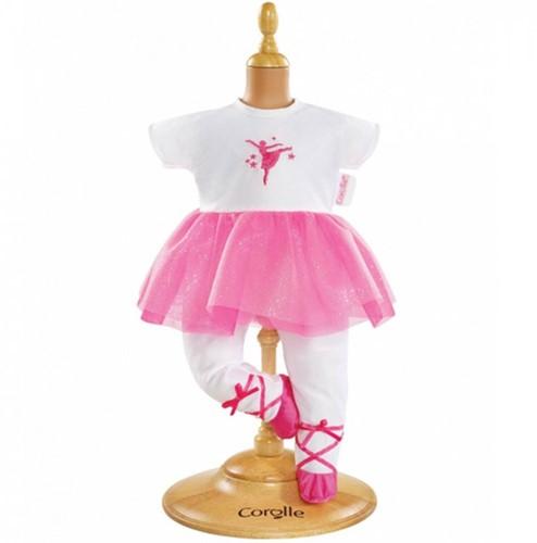 """Corolle poppenkleding Bb14"""""""" Ballerina Fuchsia Suit DMV83-1"""