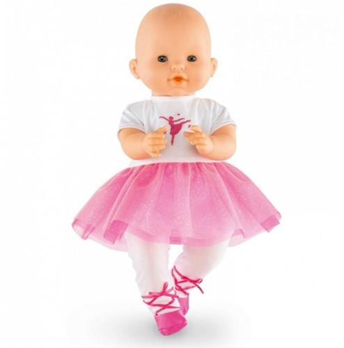 """Corolle poppenkleding Bb14"""""""" Ballerina Fuchsia Suit DMV83-2"""