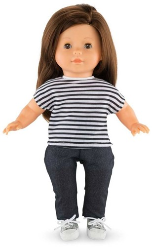 Corolle poppenkleding Mc Striped T Shirt DPB77-2