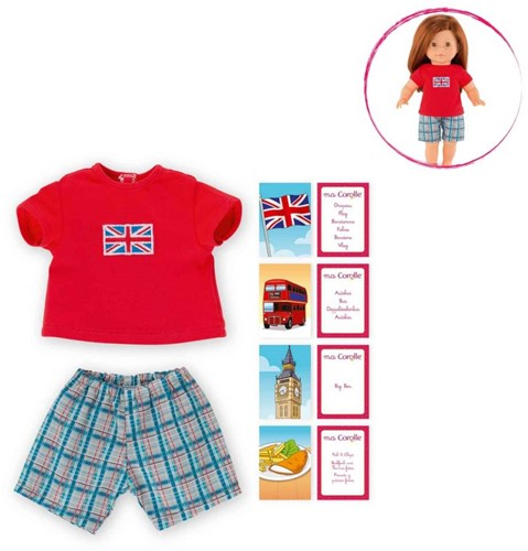 Corolle  Ma Corolle poppen kleding UK pyjama set 36 cm DRY46-1