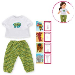Corolle  Ma Corolle poppen kleding Afrika pyjama set 36cm DRY47