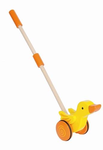 Hape houten duwstok duck-3