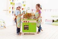 Hape houten keukentje Gourmet groen-2