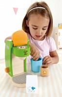 Hape houten keuken accessoires Koffiemachine-2