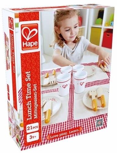 Hape houten keuken accessoires Lunch Time Set-2