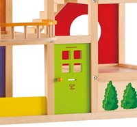 Hape houten poppenhuis All seasons house-unfurnished-3
