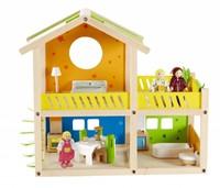 Hape houten poppenhuis Happy villa-1