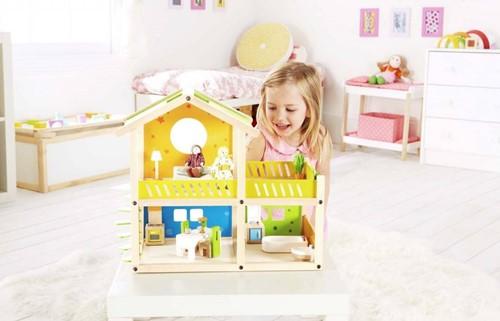Hape houten poppenhuis Happy villa-2