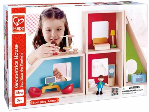Hape houten poppenhuis Fantasie huis-2