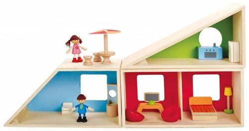 Hape houten poppenhuis Fantasie huis-3