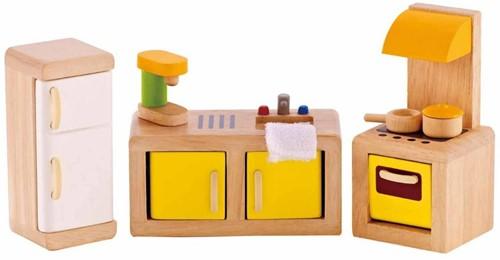 Hape houten poppenhuis meubels Keuken-1