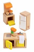Hape houten poppenhuis meubels Keuken-2