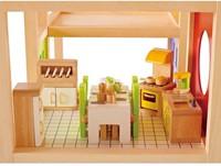 Hape houten poppenhuis meubels Keuken-3