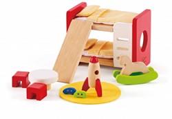 Hape houten poppenhuis meubels Kinderkamer