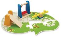Hape houten poppenhuis meubels Playground-1