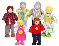 Hape poppenhuis poppen Happy Familie Europaan
