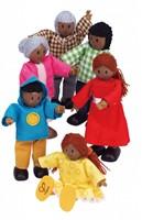 Hape poppenhuis poppen Happy Familie Afrikaans-2