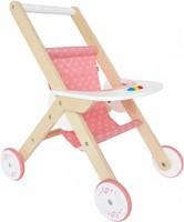 Hape houten poppenmeubel Poppenwagen