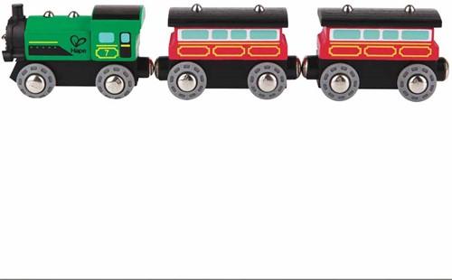 Hape houten trein Steam-Era Passenger Train