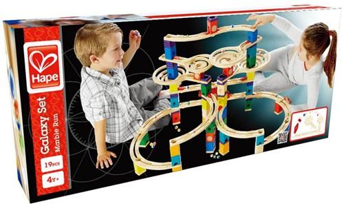 Hape Quadrilla houten knikkerbaan set Galaxy uitbreidingsset-2