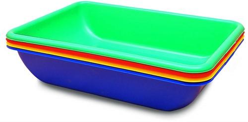 Edushape Activity Tubs -4 pcs in set - colors assorted
