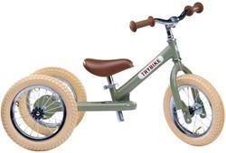 Trybike loopfiets 2-in-1 staal - Vintage groen