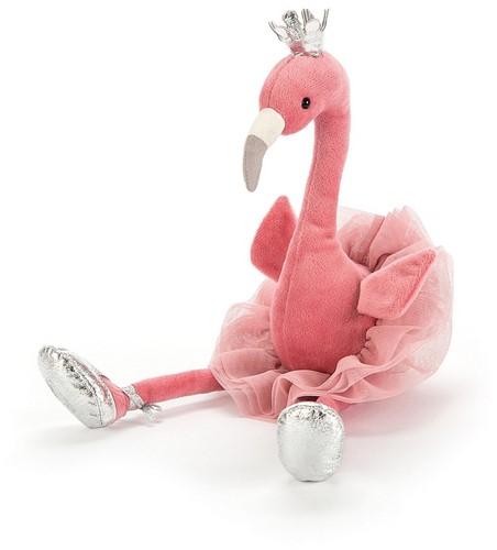 Jellycat knuffel Fancy Flamingo 34cm