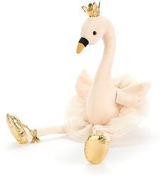 Jellycat knuffel Fancy Swan -34cm